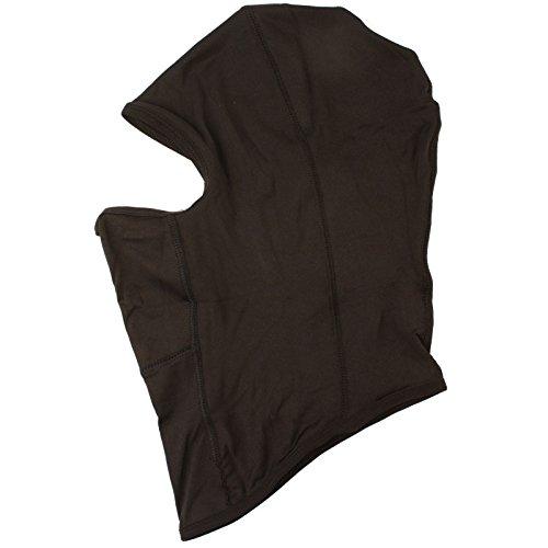 Men's Ninja Martial Arts Breathable Spandex Balaclava 1 Eye Hole Face Mask Black