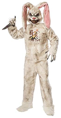 Forum Novelties Men's Rotten Rabbit Costume, White, for sale  Delivered anywhere in USA