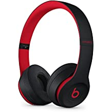 Beats Solo3 Wireless On-Ear Headphones - The Decade Collection - Defiant Black-Red