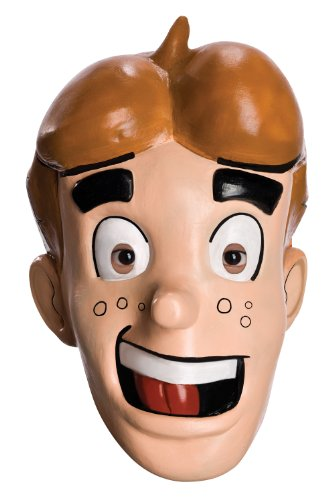 Archie Comics Overhead Latex Mask, Flesh, One Size (Archie Comic Character Costumes)