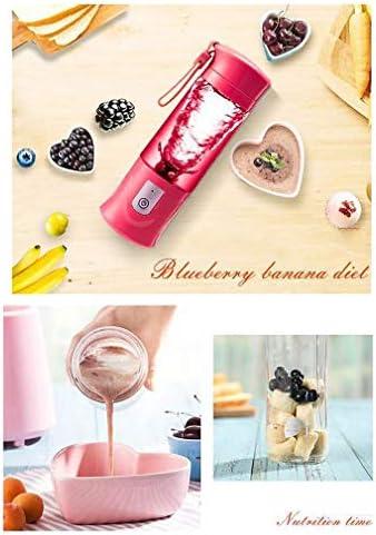 Mini Freidora Eléctrica Multifunción Portátil USB Exprimidor de Frutas Batido Botella Exprimidor Eléctrico