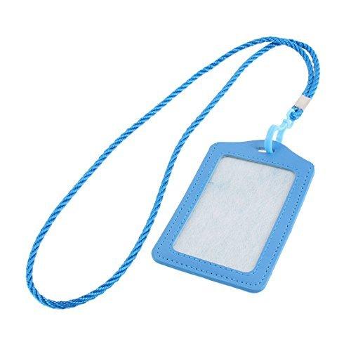 eDealMax Faux Cuir Conception verticale Bureau Badge affaires titulaire de la Carte de crdit