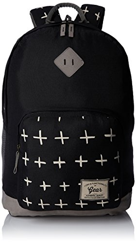 Gear Classic 25 ltrs Black and Grey Casual Backpack (BKPFRSHRS0104)