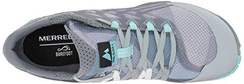 Gris Élévation Haute Glove Femme de Gris Trail Chaussures Merrell 7Owpz