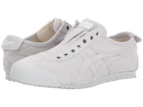 (オニツカタイガー) Onitsuka Tiger ユニセックスランニングシューズスニーカー靴 Mexico 66R Slip-On [並行輸入品] B0755NF5H9 Men's 14 (32cm) M Glacier Grey/Glacier Grey
