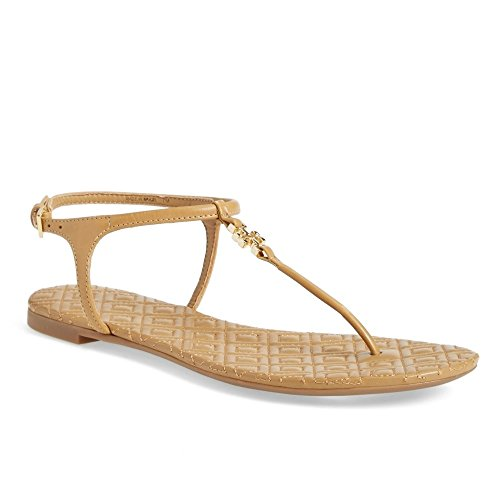 Tory Burch Women's Marion Quilted T-Strap Sandal (8.5 B (M) US, - Burch Tory 2017
