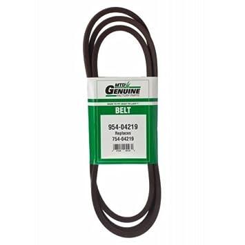 PartsBlast 754-04219 954-04219 MTD - Cinturón para ...