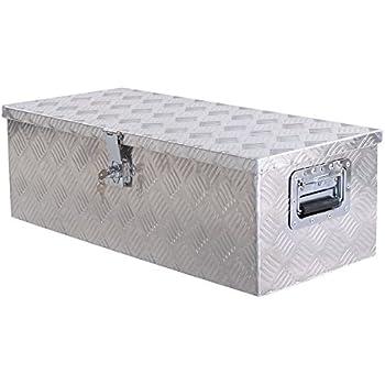 """Giantex 30"""" Aluminum Truck Pickup ATV Camper Tool Box"""