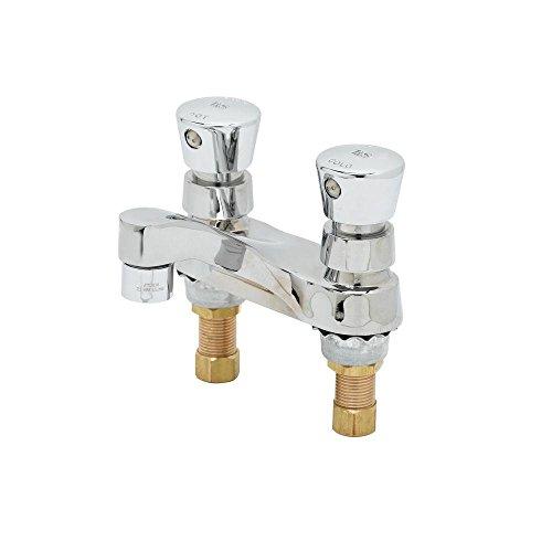 Self Closing Centerset - TS Brass B-0831 Slow Self-Closing Centerset Lavatory Faucet, Chrome