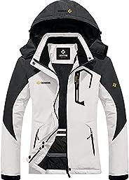 GEMYSE Women's Mountain Waterproof Ski Snow Jacket Winter Windproof Rain Ja