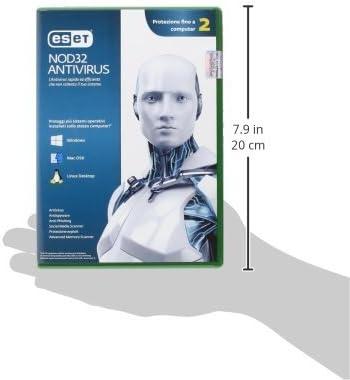 Eset NOD32 Antivirus 4 - Seguridad y antivirus (Caja, 1 Año(s), 28 MB, 44 MB, Intel / AMD, ITA): Amazon.es: Software