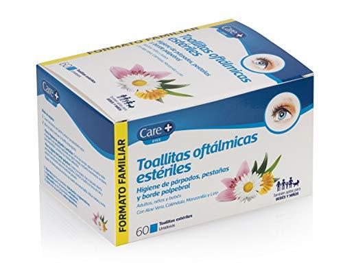 🥇 Care + Toallitas Oftálmicas – higiene de párpados