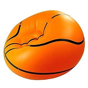 IrahdBowen Silla Inflable, diseño de Baloncesto Fresco Sofá ...