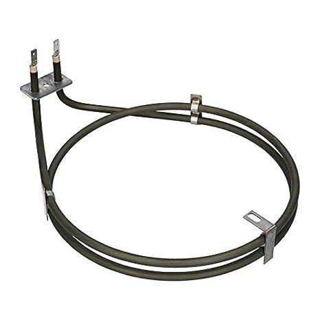 anillo calentador aire caliente aire circulante 2000W 230V horno ...