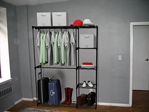 Free Standing Closet System Organizer Heavy Duty Metal