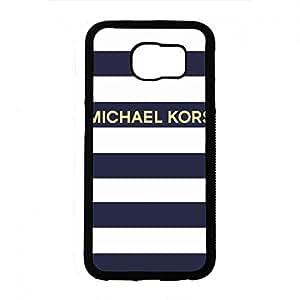 Michael Kors Brand Phone Funda Snap On Samsung Galaxy S6 Hard Plastic Funda MK Logo Theme