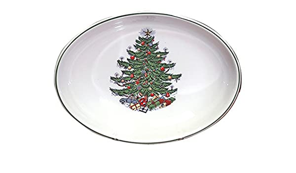 Amazon.com | Cuthbertson Original Christmas Tree Traditional Oval Vegetable  Bowl: Vegetable Bowls - Amazon.com Cuthbertson Original Christmas Tree Traditional Oval