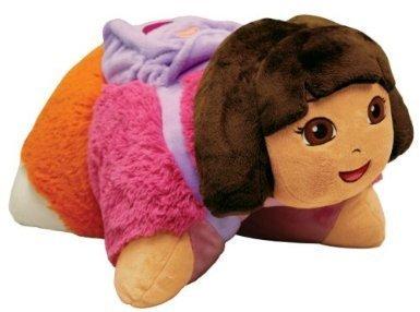 Pillow Pets, Pee Wees, Nickelodeon Dora the Explorer, 11 - Plush Doll Dora Explorer The