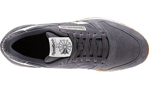 Fitnessschuhe Gum Mu Mehrfarbig Herren Ash Reebok Leather Classic Chalk Sg 000 Grey wqtI4cWv