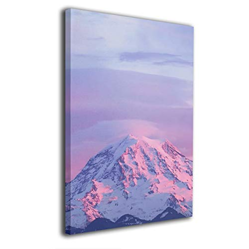 CL-Shine Seattle Mt. Rainier National Park Famous Oil Paintings Reproduction Modern Canvas Prints Artwork Abstract Print On Canvas Wall Art for Home Office Decorations