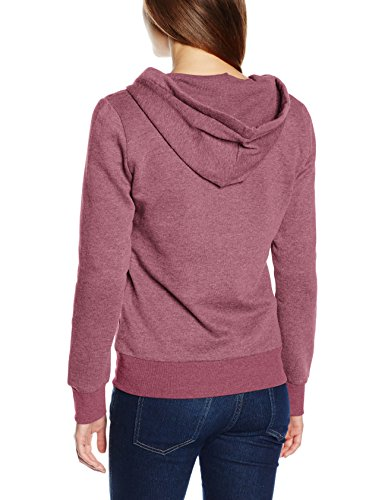 Rosso Wild Detail Melange Ls w Ginger Onlfinley Zip Noos Hood Giacca Donna Only pHU0q0