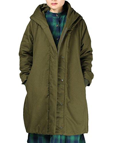 MatchLife - Abrigo - para mujer Style1-Grün