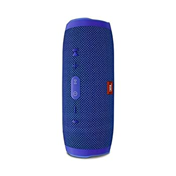 Jbl Charge 3 Waterproof Portable Bluetooth Speaker (Blue) 2