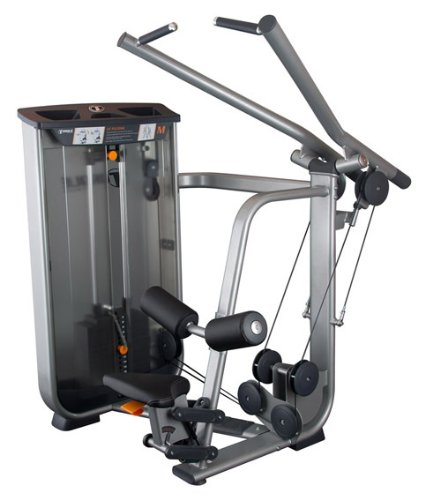 Torque Fitness M8 Circuit Series Commercial Lat Pulldown Machine with Selectorized Weight Stack