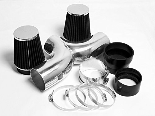 - DUAL AIR INTAKE KIT SYSTEMS FIT FOR 1994 1995 1996 CHEVY CHEVROLET CAPRICE IMPALA SS 4.3 4.3L & 5.7 5.7L V8 ENGINE (BLACK)