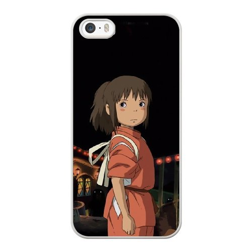 Coque,Coque iphone 5 5S SE Case Coque, Spirited Away Main Character Cover For Coque iphone 5 5S SE Cell Phone Case Cover blanc