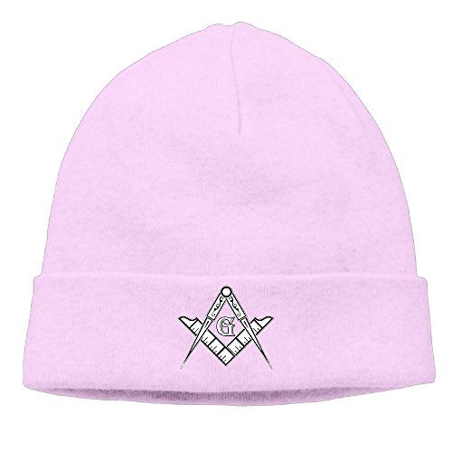 Freemason Logo Square & Compass Unisex Pattern Beanies Hats