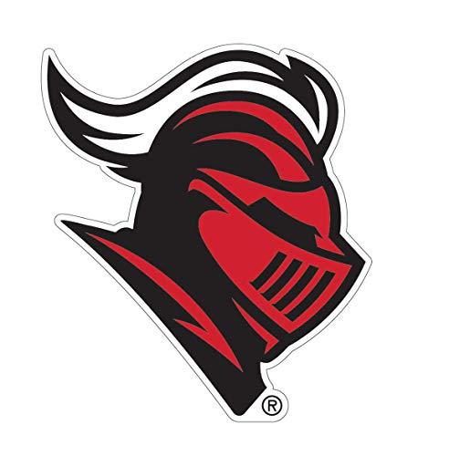 (WinCraft Rutgers University Scarlet Knights Mascot Logo Auto Badge Decal, Hard Thin Acrylic, Small 3.5x3 inches)
