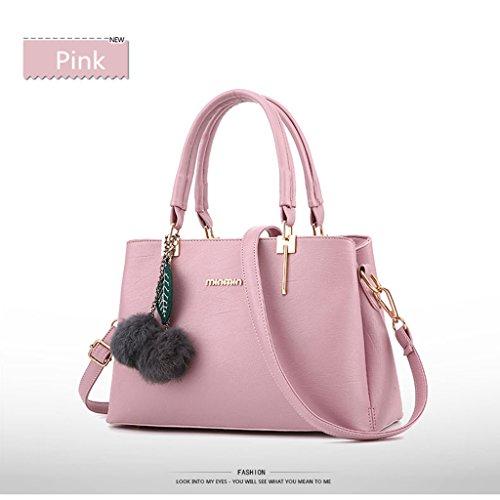 FK - Bolso mochila  para mujer Rosa