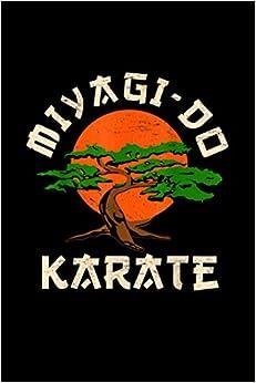 Vintage Miyagi-Do Karate Bonsai Tree Notebook 114 Pages 6''x9'' Blank lined