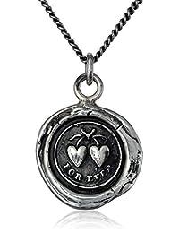 "Pyrrha ""talisman"" Hearts Necklace"