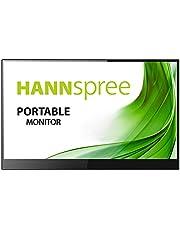 HANNspree bärbar pekskärm Full-HD 220cd HDMI USB-C högtalare, 15,6 Tum, Grå