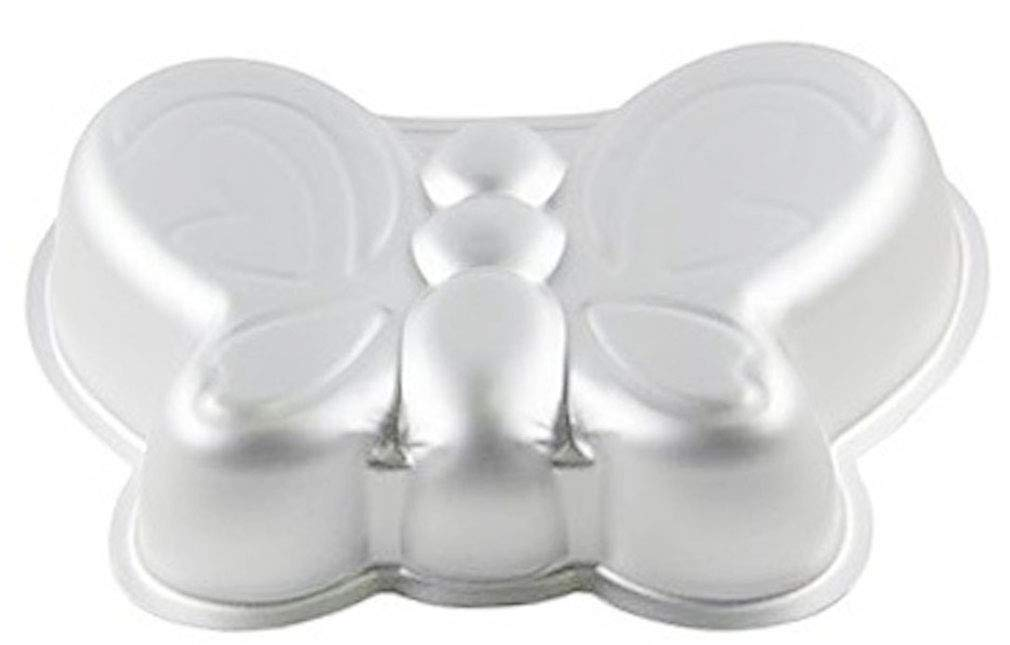 27/cm WDYJMALL 3D-Backform Kuchenform Schmetterling aus Aluminium