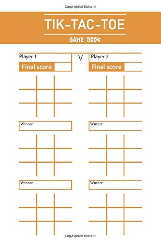 TIK TAC TOE GAME BOOK: Fun and Challenge to Play Game While You are Traveling Camping Road-trip Family Activity