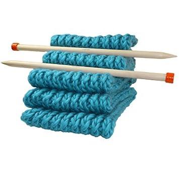 Kit Tricot pour Tricoter une maxi écharpe XXL en Grosse Laine du Pérou -  Kit de 510eecbfa06