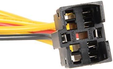 uxcell プッシュスイッチ接続ケーブル ケーブル20cm長さ プラスチック材質 プッシュスイッチ