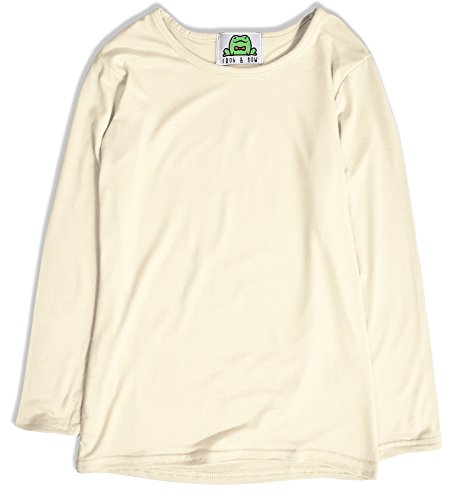 Jollyrascals Girls Top - Long Sleeved Girls T-Shirt - Girls Clothing - Girls Long Sleeve Tops (Cream, 13 Years)
