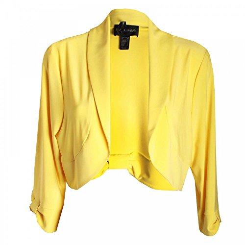 Lyman Frank Giacca Donna Lyman Frank Giacca Yellow Yellow Donna 1wFBqSZ