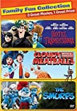 Sony Pictures Home Entertainment COL D46629D Cloudy with A Chance of Meatballs Hotel Transylvania Smurfs DVD 2 Disc TF