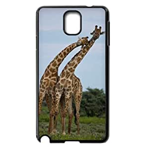 D-PAFD Customized Print Giraffe Hard Skin Case Compatible For Samsung Galaxy Note 3 N9000
