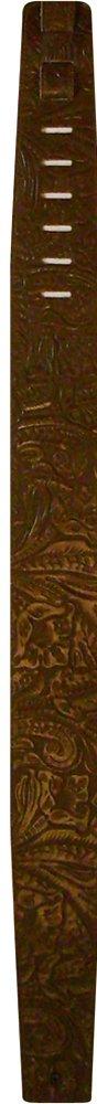 Perri's Leathers P25W-571 Embossed Western Flower , Brown Cascio Music Company - CA
