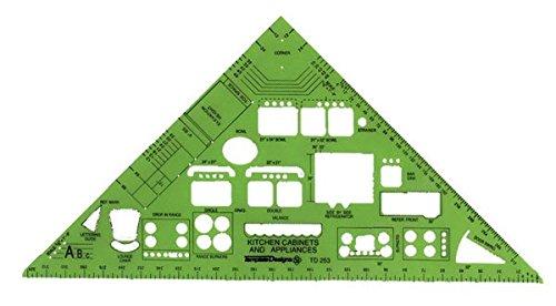 Alvin TD253 Kitchen & Cabinet Design Template