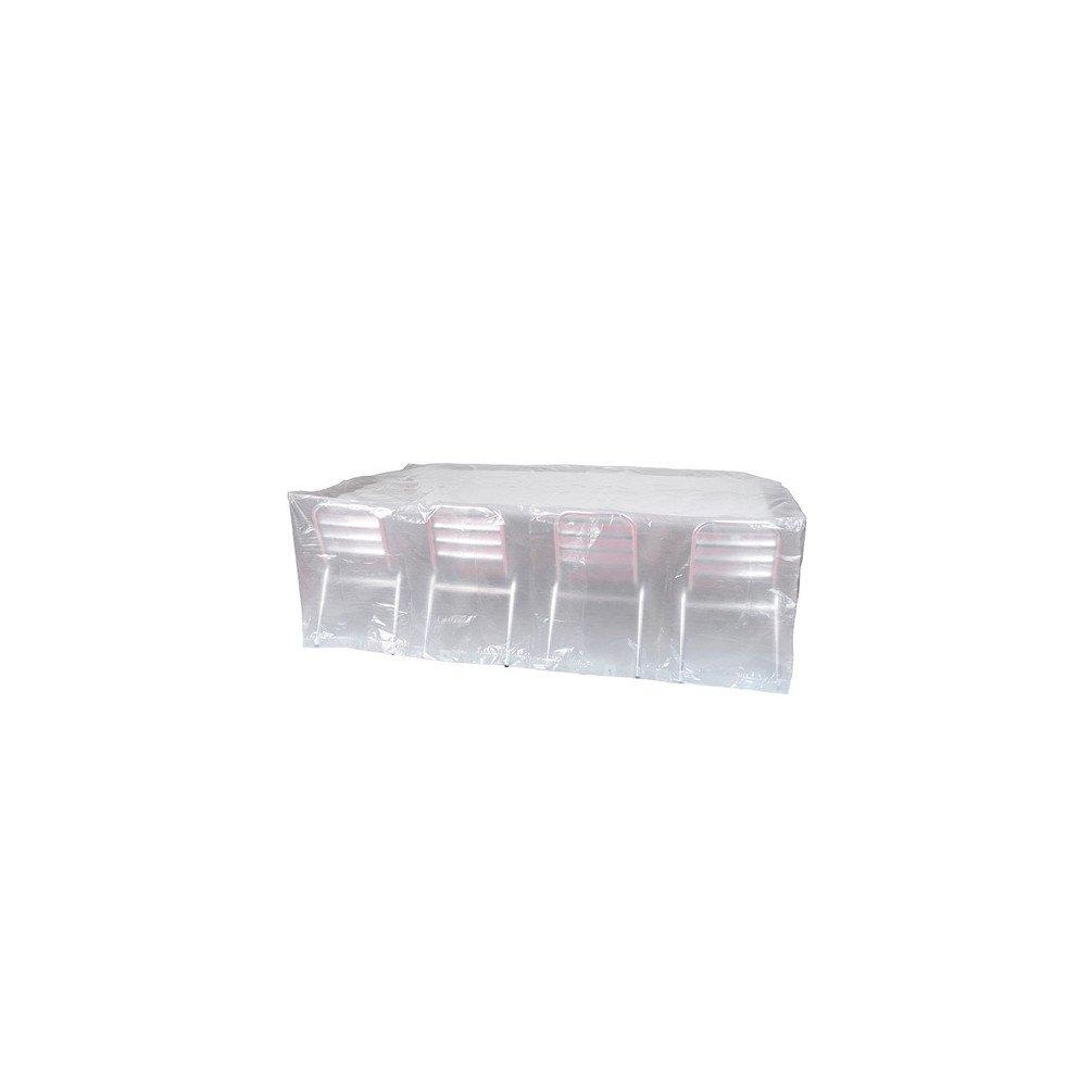Housse de protection pour chaises et table rectangulaire 310x150x80cm 90gr/m² REF PRH090310X150 Ribiland
