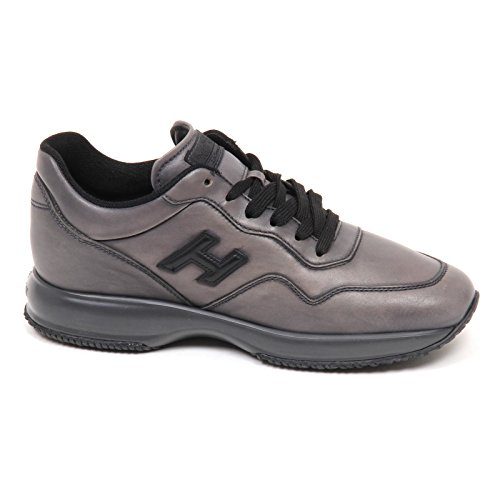 Hogan E2988 Sneaker Uomo Grey Interactive Scarpe H 3D Shoe Man Grigio scuro