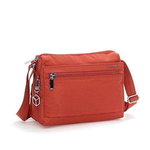 Hedgren Eye Rfid-Blocking Pouch Shoulder Bag, Tandoori Spice, One Size