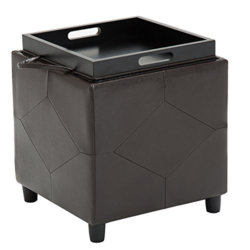 Leather Set End Table - 4